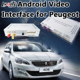 Peugeotのためのアンドロイド6.0の運行ビデオインターフェイス208/2008/3008/408/508 (MNR) WiFi/Mirrorlink/AVの出力