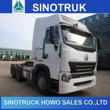 使用されたトラックヘッドを点検するSinotruck HOWOのトラクターRhd