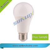 E27 15W 6500K светодиодная лампа датчика света лампы освещения