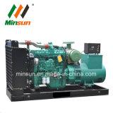 250 ква 200квт с водяным охлаждением дизельный генератор для электростанции