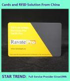 Revestimento UV feitas com cartões de tarja magnética de PVC para o cliente