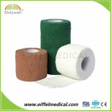 Cohesive Surgical Colourful Coil-Adhesive Elastic Binding with Free Latex