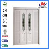 Porta da madeira contínua do chuveiro da dobra do Bi da polegada de Toronto das portas interiores