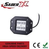 Indicatore luminoso impermeabile del lavoro dell'inondazione LED dell'orecchio 18W per fuori dai veicoli stradali