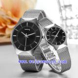 Montres-bracelet occasionnelles de cadeau de montre de mode (WY-015GB)