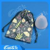 Чашка медицинских женщин силикона менструальная для оптовой продажи