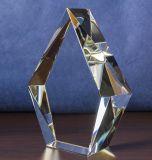De Kubus van het Kristal van de AMERIKAANSE CLUB VAN AUTOMOBILISTEN met de Gravure van het Merk voor Herinnering