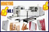 La comida de ocio de la bolsa de papel que hace la máquina, V la parte inferior de la bolsa de papel que hace la máquina
