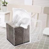 Contenitore acrilico del tessuto del cubo della casella moderna del tovagliolo per l'hotel