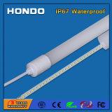 Garantía de 3 años de 4000K 150lm/W2835 SMD 18W 1200mm resistente al agua IP67 Tubo LED T8, la luz fluorescente
