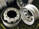 Для тяжелого режима работы погрузчика колеса со стальными колесными дисками 22,5 X9.00 для 12r22,5 давление в шинах
