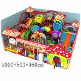 Скольжение парка атракционов хорошего качества крытый крытый совмещенное спортивной площадкой для малышей