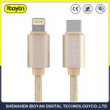 携帯電話のタイプC出力が付いている速い充電器電光USBのデータケーブル