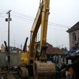 Máquina escavadora de KOMATSU PC200-7 da máquina escavadora hidráulica usada da esteira rolante para a venda