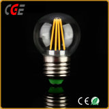 Lumière d'ampoule de filament d'Edison 4W G45 E27 DEL utilisée dans la chambre à coucher