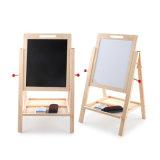 Giocattoli educativi staccabili a doppia faccia di legno del tavolo da disegno dei bambini del supporto
