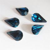 Pedra extravagante de cristal do Teardrop com a garra para a jóia