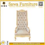 Großhandelshochzeits-König-und Königin-Thron-Stühle für Verkauf