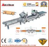 MDF completa línea de producción de fabricación de máquina de perforación CNC automática