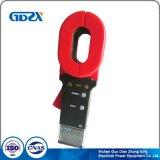 Medidor da braçadeira de Digitas para a resistência de terra e a corrente de medição do escapamento