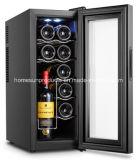 12bottles Ce/CB/RoHSの承認の熱電ワイン冷却装置、