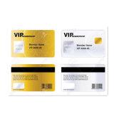 Meilleure vente de carte plastique PVC laser à finition brillante
