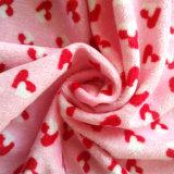 毛布のためのMinkyファブリックを編む100%年のポリエステル