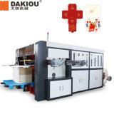 Machine de découpage de découpage se plissante automatique de cuvette de papier de machine de cuvette de papier