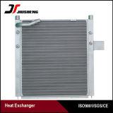 Refrigerador de petróleo de alumínio da barra e da placa para Doosan Dh150W-7