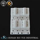 Peça de cerâmica de alumina 99,6% peça de cerâmica de isolamento de Alumina Componentes cerâmicos