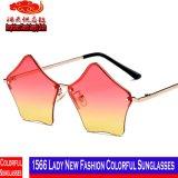 Senhora 1566 Novo Forma Colorido Óculos de sol