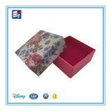 Rectángulo de papel Custom Designed de embalaje del regalo de la Navidad exquisita para los cabritos