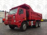 Autocarro con cassone ribaltabile di estrazione mineraria di HOWO 70t 420HP