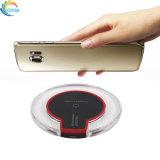 Прозрачный индикатор быстрое беспроводное зарядное устройство для мобильных телефонов