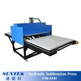 Presse hydraulique de sublimation de stations de double de Stm-A01h