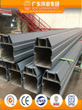 Profil en aluminium pour le mur rideau pour l'usage de construction