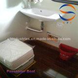 14.28m China FRP de fibra de vidrio en Taxi Acuático