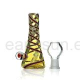 De mini Rokende Waterpijp van het Glas van de Waterpijp van de Stijl Durbine met Accenten (S-GB-234)