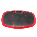 Rojo delgado de la potencia de la dimensión de una variable de la carrocería 180kg del masaje de la aptitud del ejercicio de la placa 1000W de la vibración
