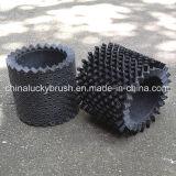 Limpieza de cristal de nylon negra o polaco alrededor del cepillo (YY-297)