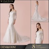 Newest Fashion Lady robe de mariée robe de mariage Mermaid