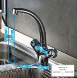 All-Copper température constante de l'eau chaude/froide canal tournent le robinet de cuisine