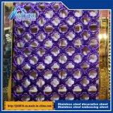 dekoratives Blatt-prägenblatt 512 des Edelstahl-201 304 316