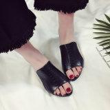 Rhinestone de la manera de las sandalias de los altos talones de las mujeres de los zapatos de los deslizadores del verano de las señoras de las sandalias de las mujeres