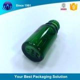1oz 30ml Orange ronde de Boston bouteille en verre avec compte-gouttes en caoutchouc