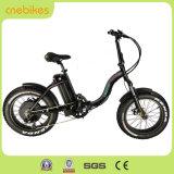 bicicleta eléctrica del neumático gordo 20inch plegable la bici eléctrica