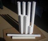 """Long temps de travail 20"""" 50 microns de sédiments du filtre à cartouche d'enroulement"""