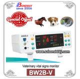 Monitor de signos vitales veterinario, veterinario de animales de compañía Monitor de Paciente, múltiples parámetros Monitor veterinario portátil, monitor de paciente para los Animales