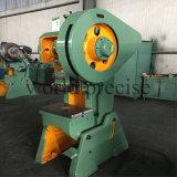Máquina de perfuração da imprensa de perfurador J23 da potência mecânica 40ton
