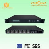 le modulateur d'encodeur d'écart-type de 12in1 DVB-C supporte 12CVBS et rf
